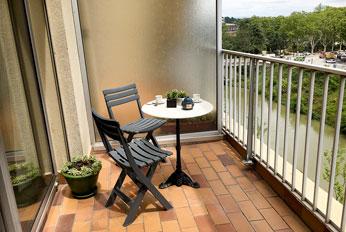 Le balcon sur le Canal du Midi